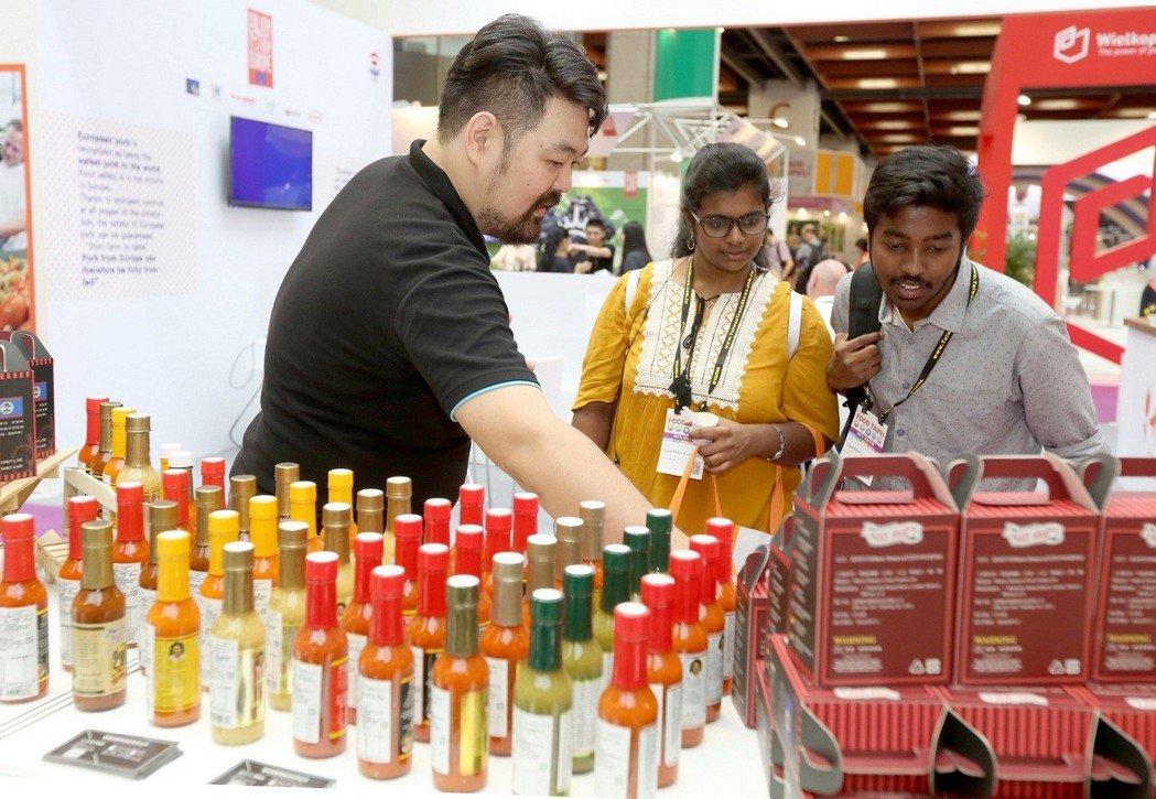 台灣食品享譽全球受到海外買主青睞。圖/外貿協會提供