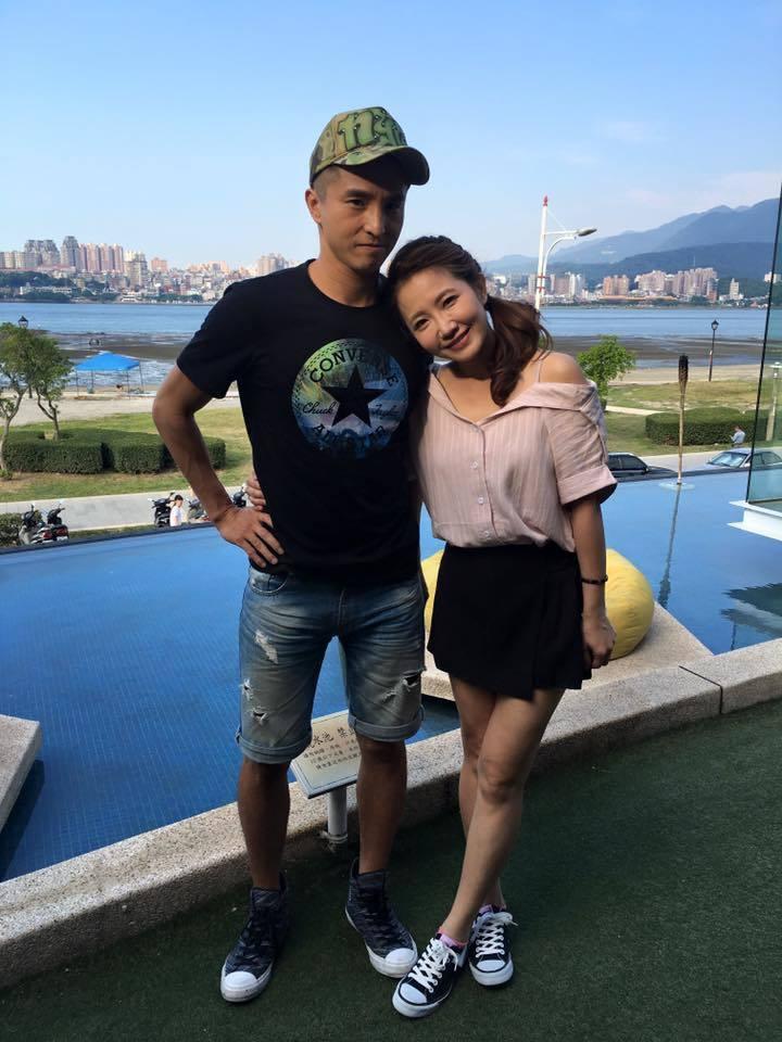 王少偉(左)和謝忻私交甚篤。圖/王少偉臉書