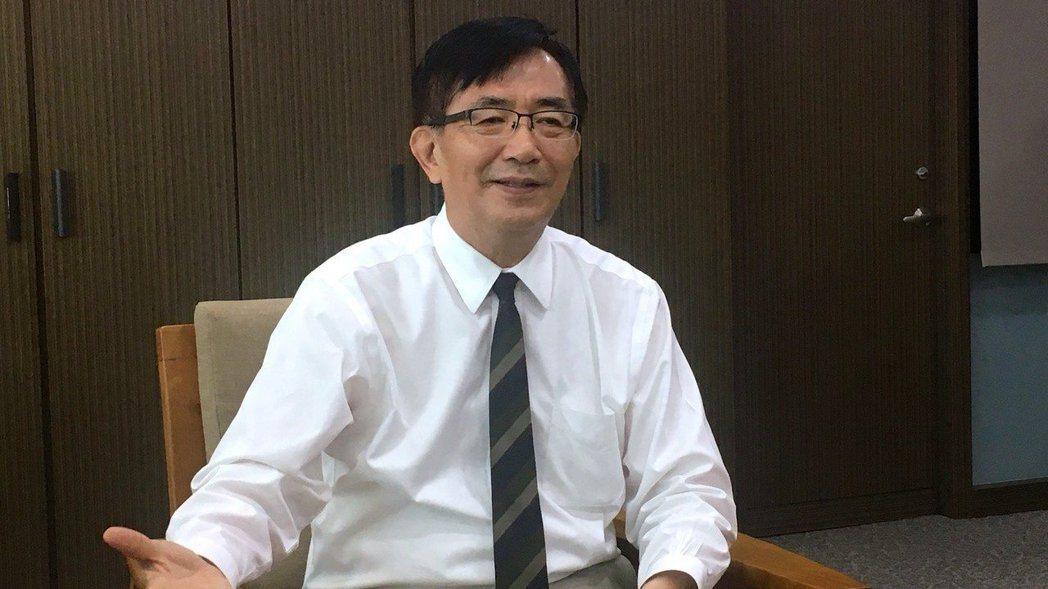 交通部前部長吳宏謀。本報系資料照片
