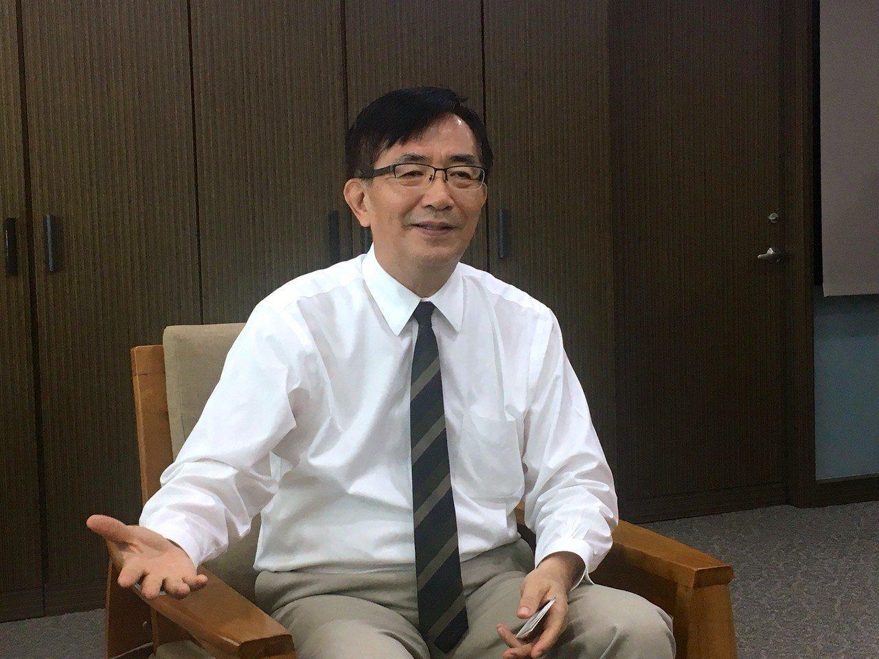 交通部前部長吳宏謀。 本報系資料照片
