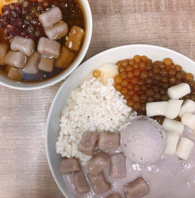 「阿爸の芋圓」是樂華夜市超人氣排隊冰店。IG @bonbon_foodie_li...