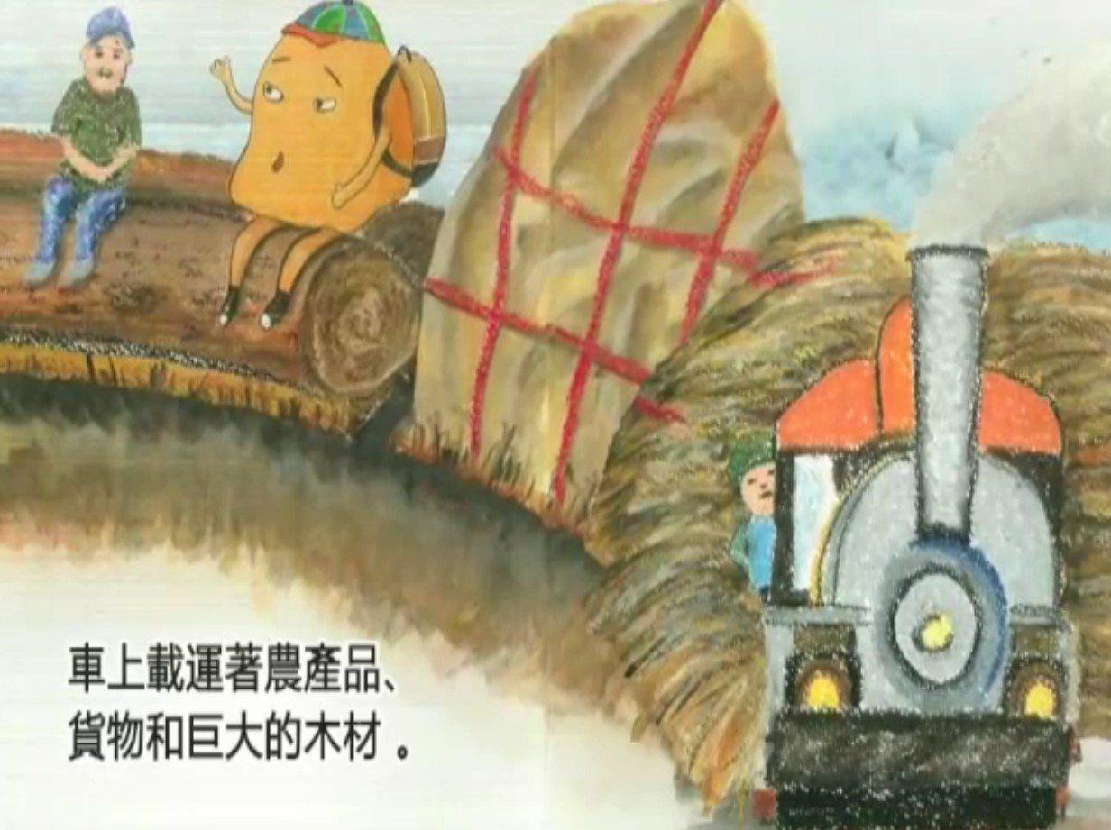 台南大同國小師生共同完成的「南站再見 再見南站」繪本,製作成動畫,參加國際影展,...