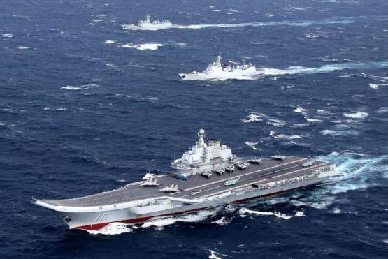 中共航艦遼寧號首度遠航 繞過菲律賓進入南海