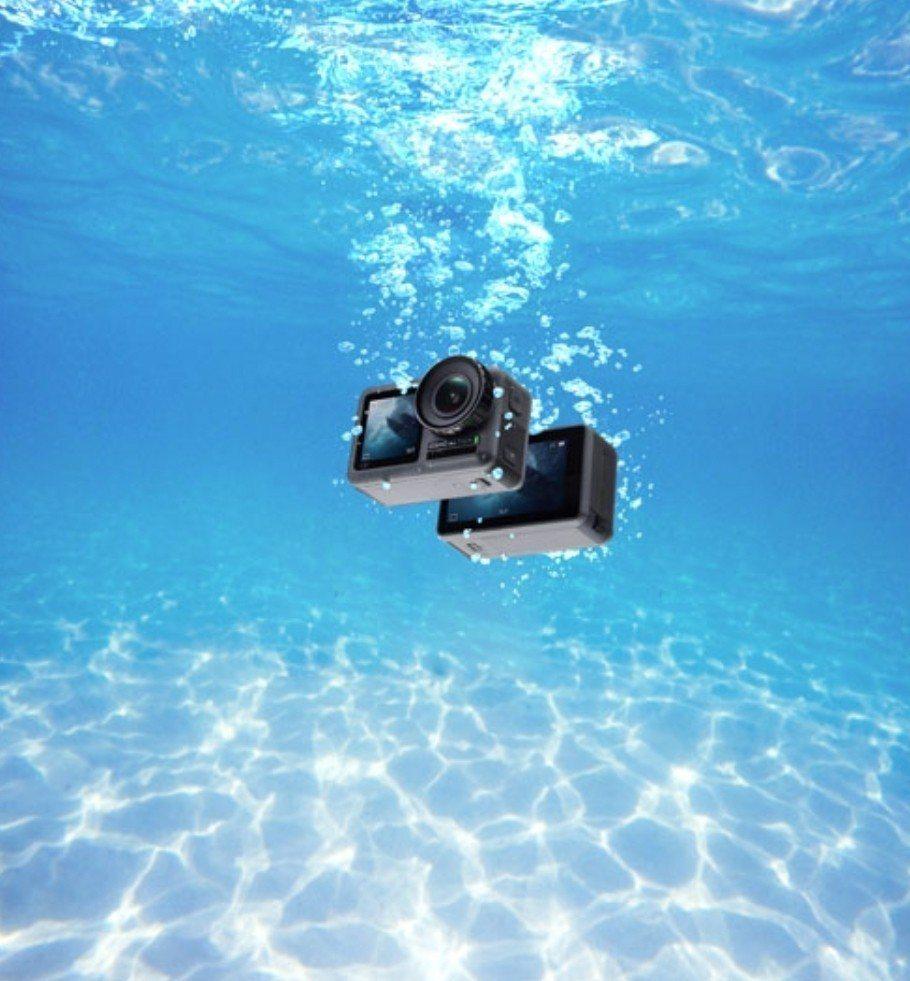 Osmo Action機身防水,水上、水下活動更為輕便無阻,22日正式在台開賣。...