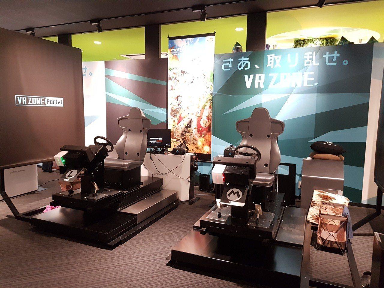 MARK IS內可預約VR實境互動遊戲體驗。記者何雅玲╱攝
