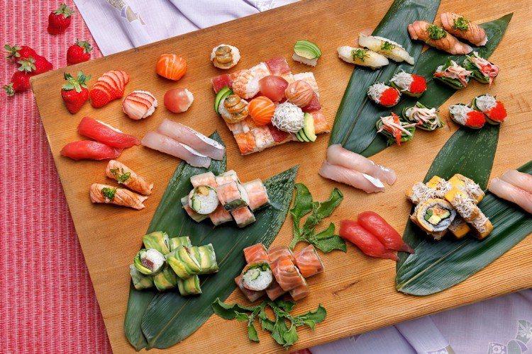 欣葉日本料理推出滿15人可享2人免費的平日方案。圖/欣葉提供