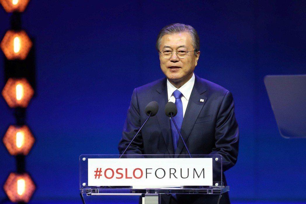 文在寅政府19日宣布一項野心勃勃的策略,目標是使南韓在2030年前躋身全球前四大...