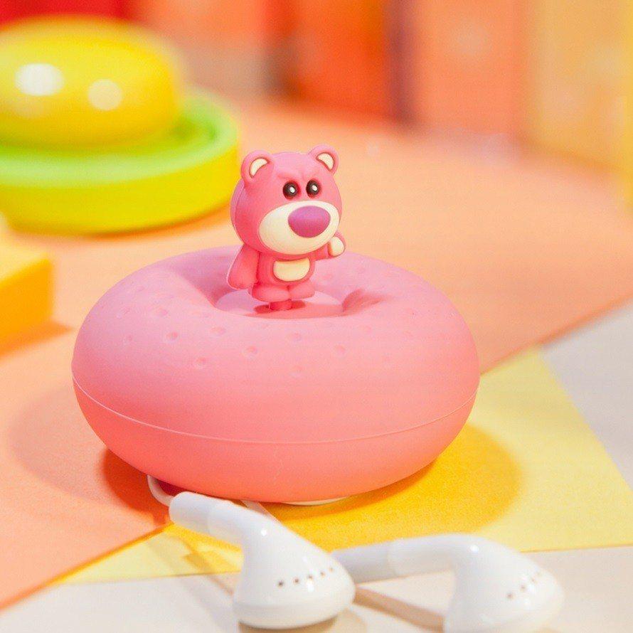 Bone Donut Wrap甜甜圈吸盤捲線盒-熊抱哥,售價255元。圖/mom...