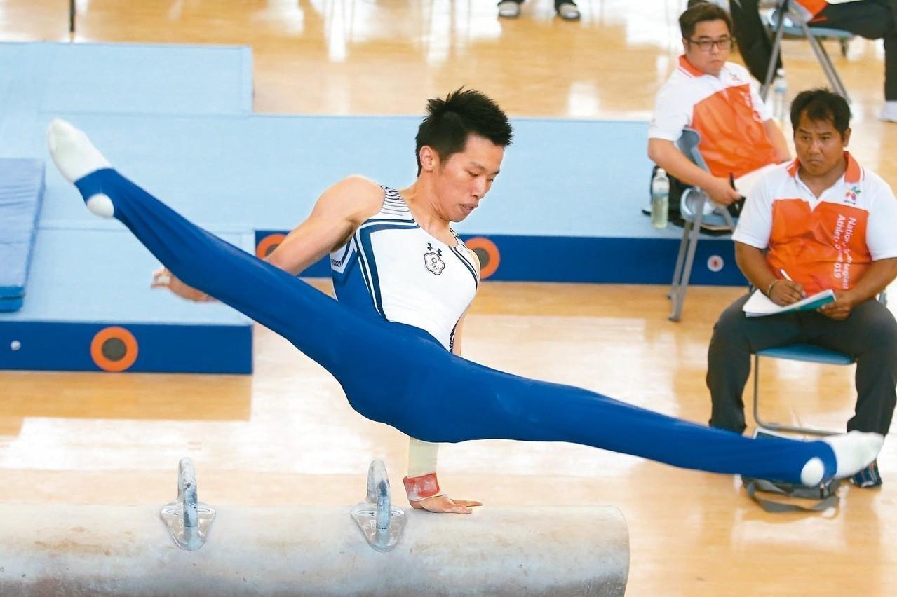 體操/新動作未獲承認 亞錦賽李智凱仍居領先