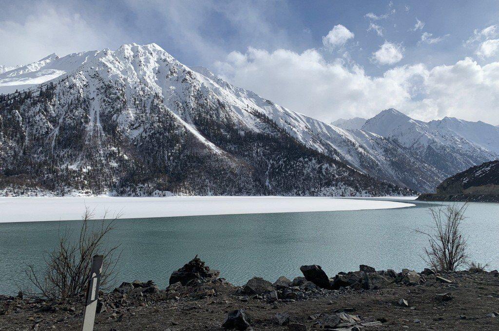 喜馬拉雅山。 中新社
