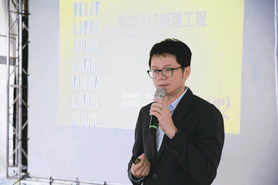 寰林工程總經理郭世明,精彩簡報說明。 張瑞文/攝影