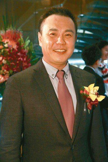 中揚光董事長鄭成田 本報系資料庫
