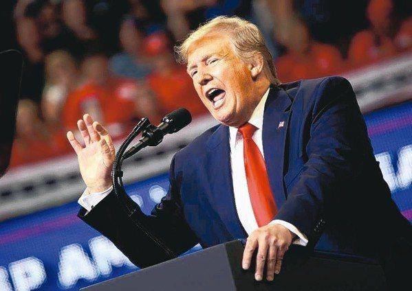 美國總統川普正式宣布競選連任,他造勢時細數總統任內的政績,但沒有提出第二任的新政...