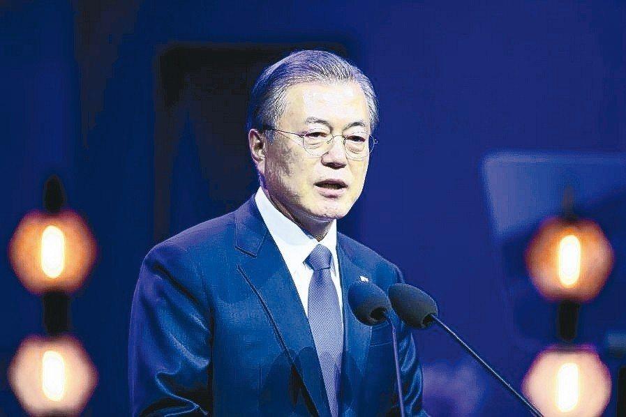 南韓總統文在寅 路透