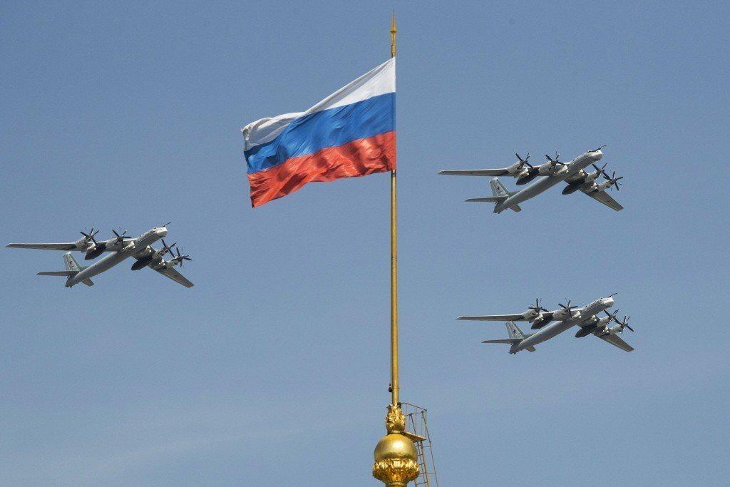 俄羅斯TU-95轟炸機。 美聯社