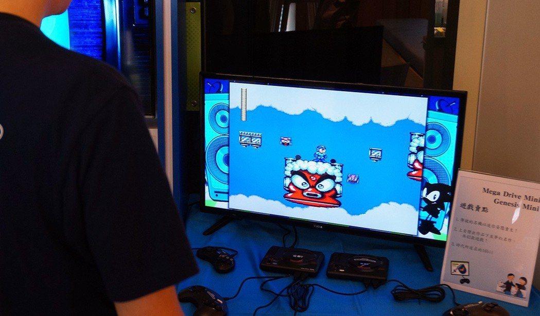 想不到 Mega Drive 上也有洛克人吧!這款《洛克人 Mega World...