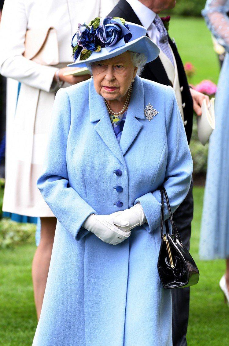 英國女王伊莉莎白二世。圖/達志影像