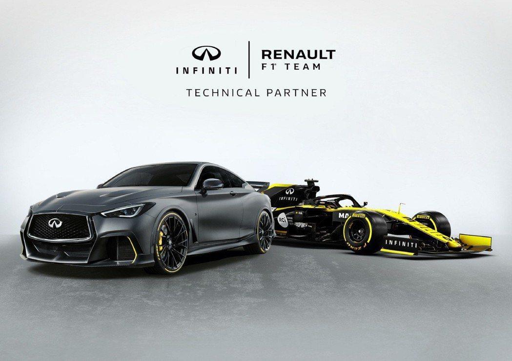 Infiniti與Renault F1車隊技術合作 摘自Infiniti