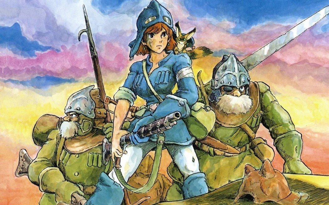等一下,娜烏西卡是吉卜力胸部最大女主角啊。
