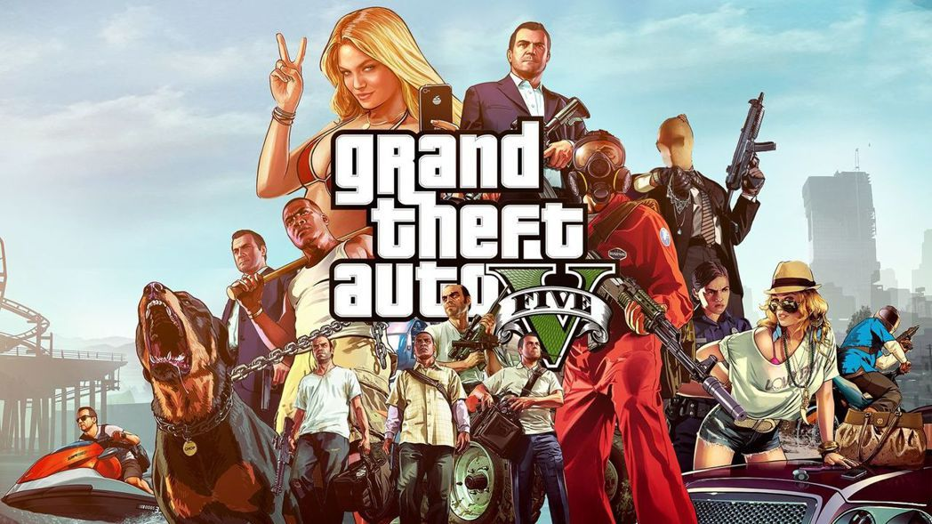 《俠盜獵車手V(Grand Theft Auto V)》