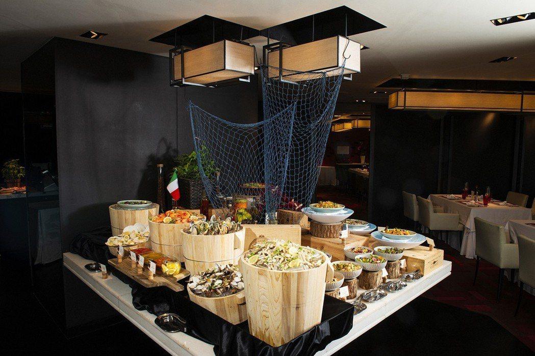 香格里台北遠東馬可波羅餐廳-週日早午餐。