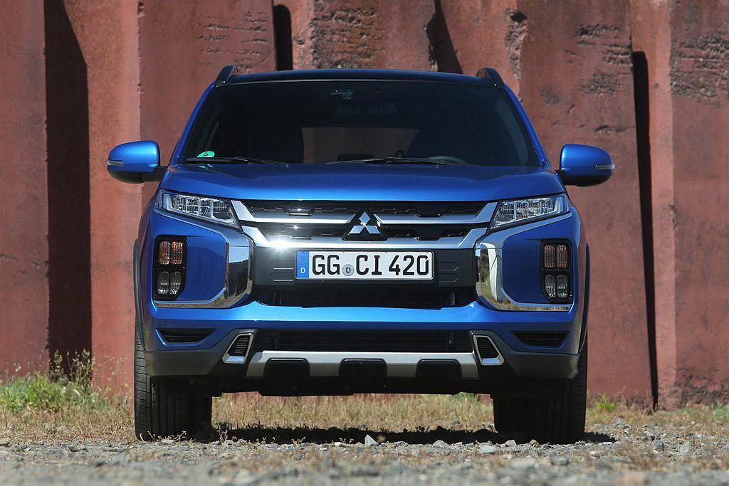 今年瑞士日內瓦車展亮相的小改款三菱ASX,英國、日本市場已確認銷售時辰。 圖/M...