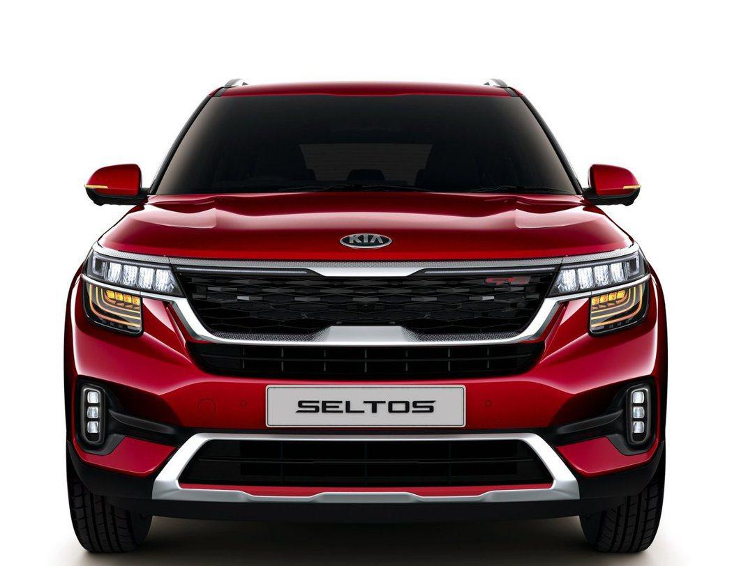 全新Kia Seltos今日 (20) 在印度德里正式發表。 摘自Kia