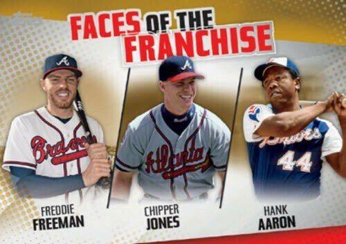 勇士過去長期以投手王國聞名,陣中少數聞名的打者都是超級強打,阿倫(右)、瓊斯(中...