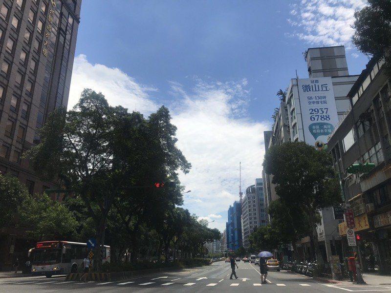 高溫炎熱的天氣到周六,氣象局指出,22日有新一波鋒面接近,23日北台灣將有明顯雨...