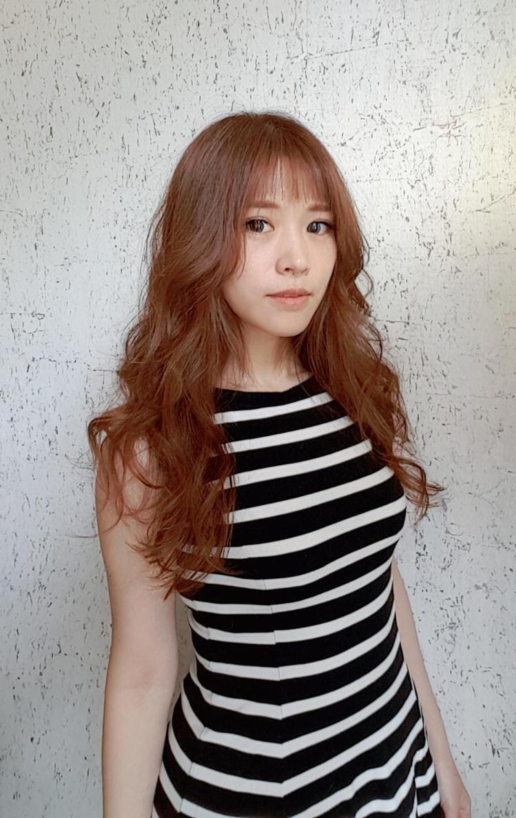 髮型創作/V-space髮藝沙龍 竹北文興店 / phoebe。圖/StyleM...