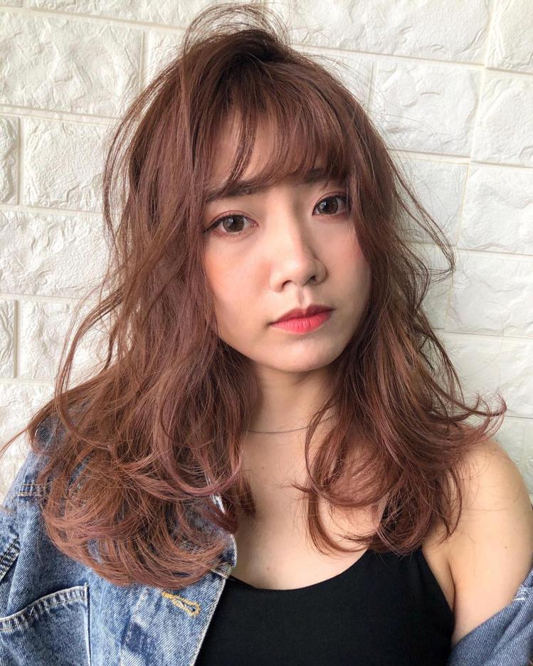 髮型創作/Ps55 國際髮型 / Mark Lin。圖/StyleMap美配提供