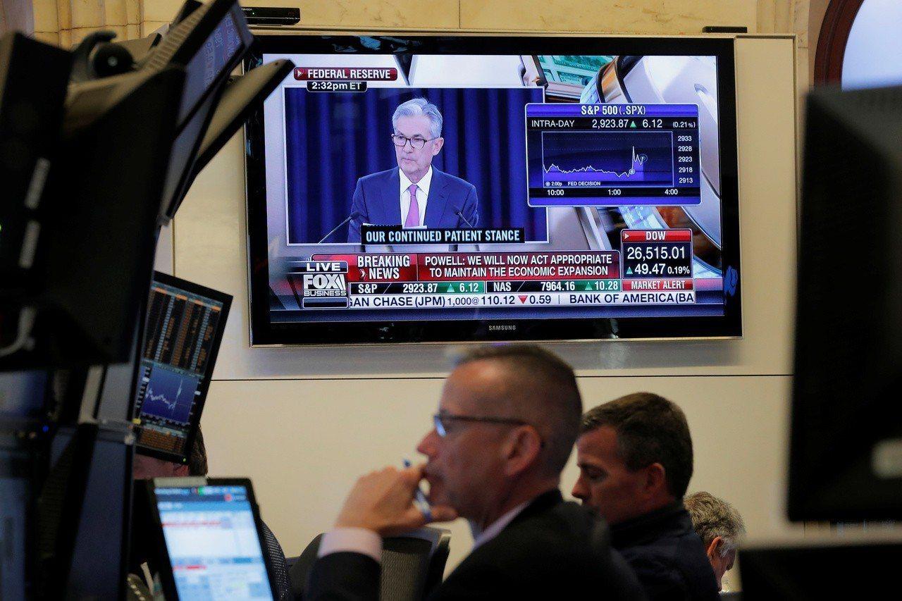 聯準會如市場預期,維持聯邦資金利率在2.25%至2.50%水準。 路透