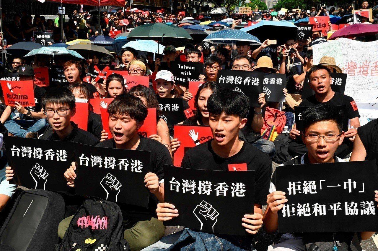 媒體報導,10餘名香港示威者近日來台尋求庇護。法新社