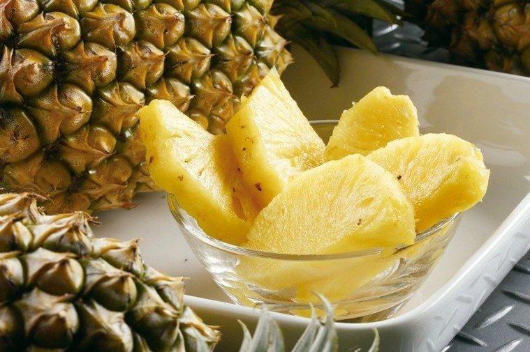 鳳梨營養價值高。本報資料照片