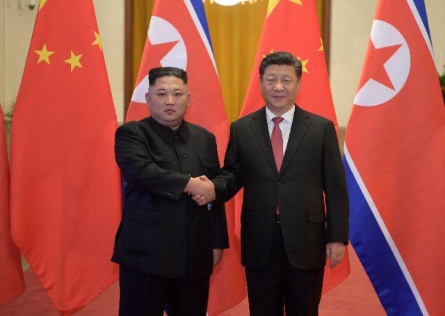 習近平訪問北韓前夕,美國偵察機蒐集北韓相關情報。 新華社