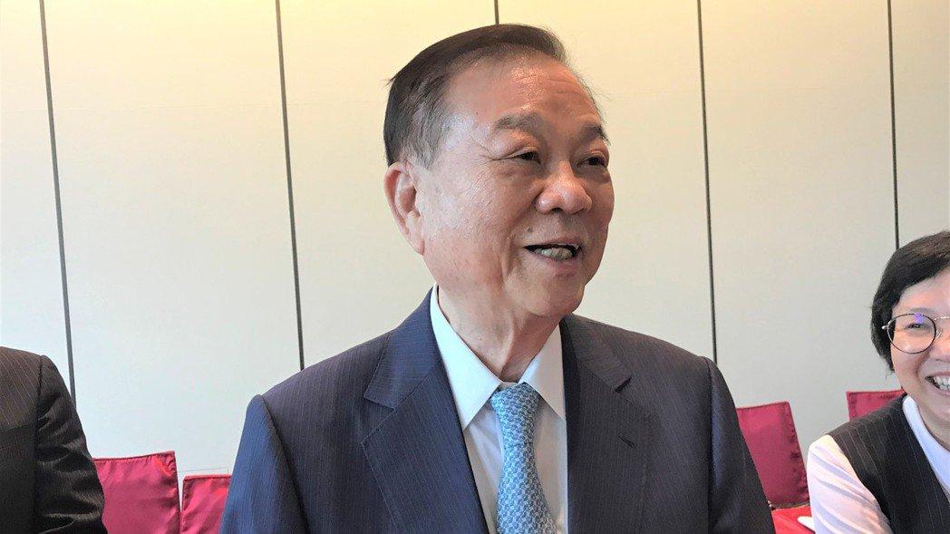 皇翔建設董事長廖年吉。   記者游智文/攝影