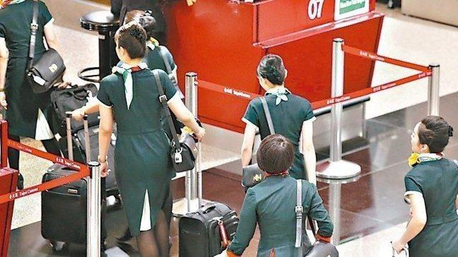 長榮航空自6月20日下午16:00開始罷工。 圖/報系資料照
