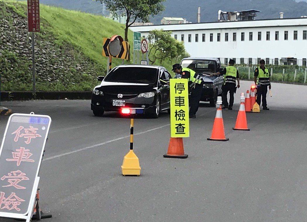 酒駕新制7月1日上路,宜蘭縣政府警察局加強執法。圖/宜蘭縣政府警察局提供