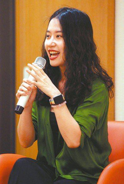 顏訥。 記者林俊良/攝影