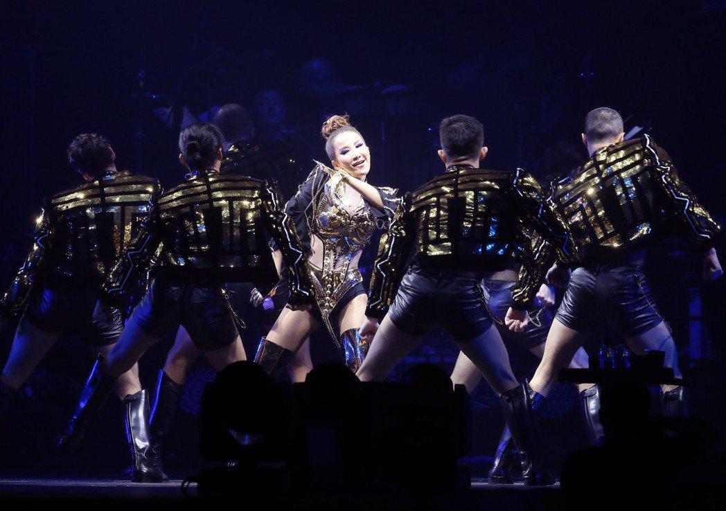 Coco李玟出道22年二度攻蛋〈You&I 〉世界巡演會台北場今晚在小巨蛋登場。...