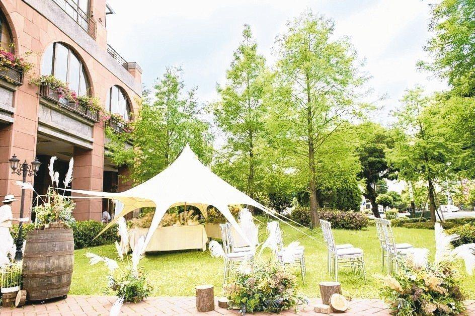 維多麗亞酒店打造莊園般的夢幻婚禮。 維多麗亞酒店/提供