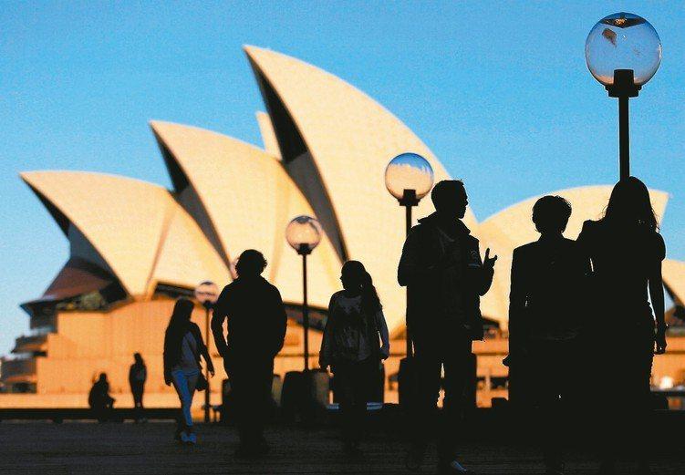 澳洲投資等級債年化波動度低於3%,報酬表現卻優於美歐同類型券種。 (本報系資料庫...