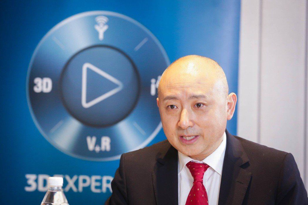 達梭系統大中華區總裁張鷹說,在台灣合作夥伴們的協助下,該公司在台業務年年兩位數成...