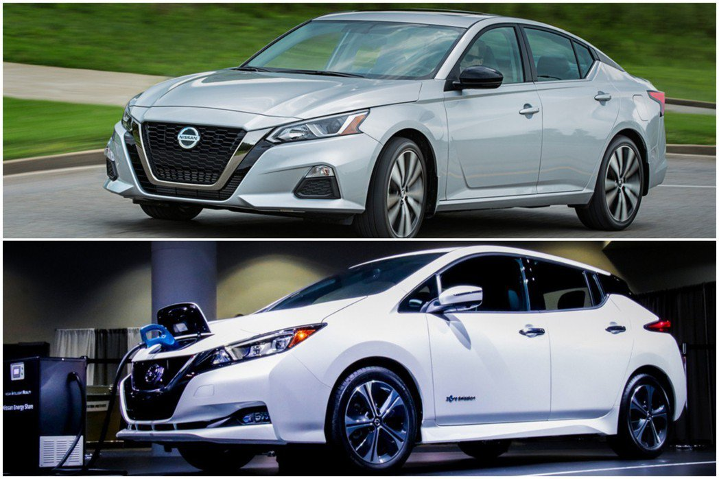 Nissan Altima與Nissan Leaf預計都會在今年下半年引進來台。...