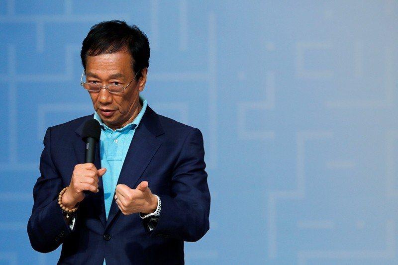 韓國瑜的如意算盤被郭台銘宣布投入初選所打破。 圖/路透社