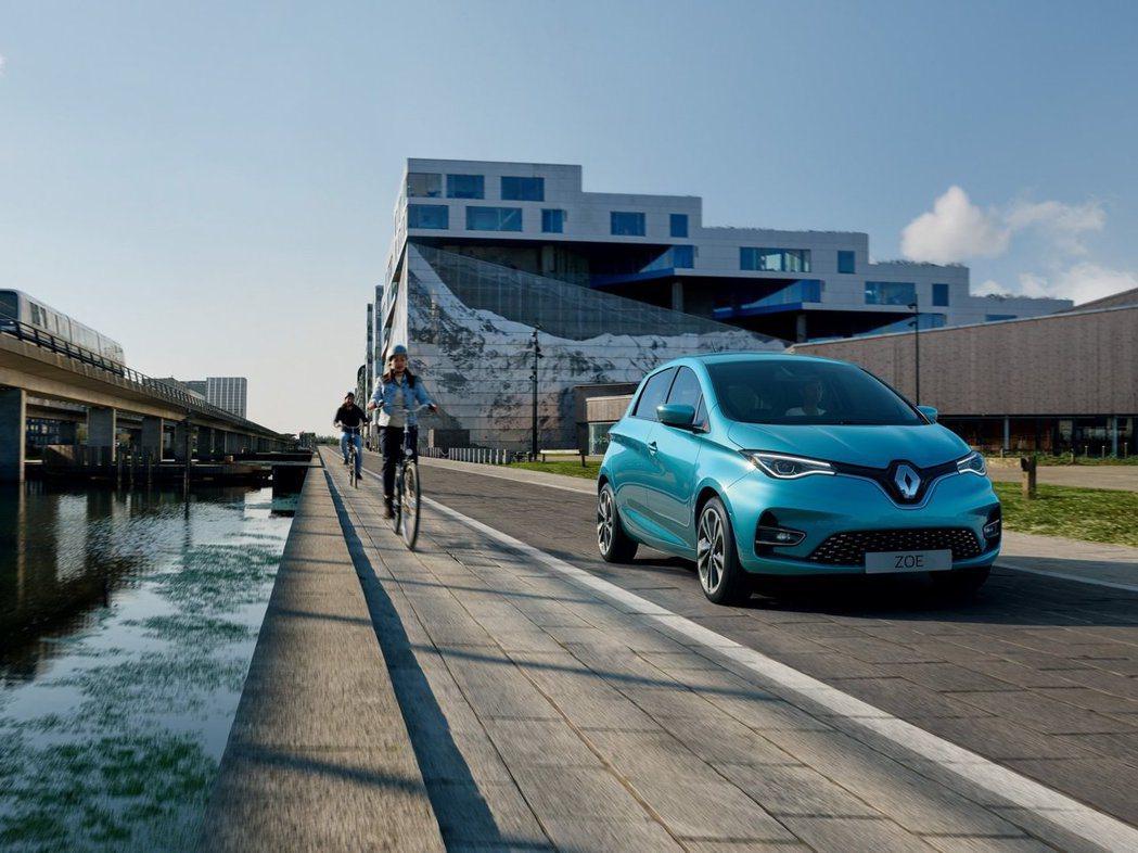 新世代Renault Zoe續航能力又更進步了。 摘自Renault