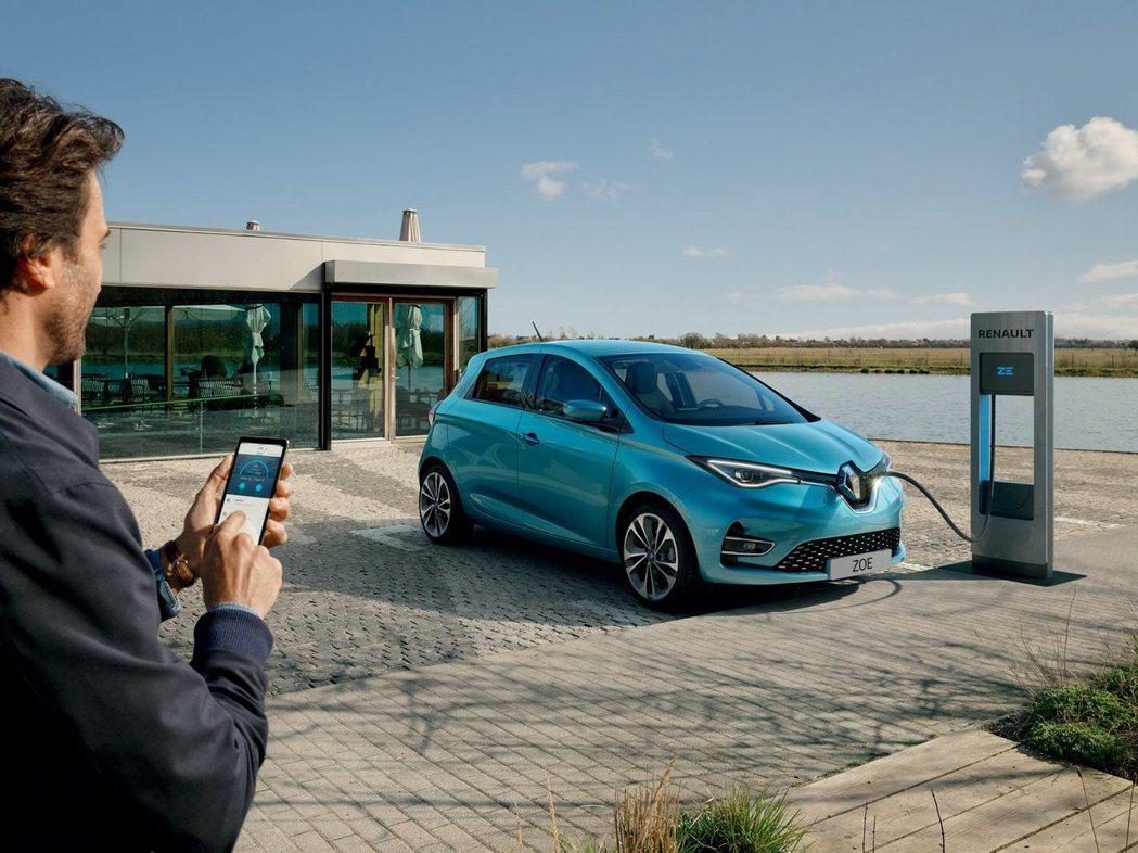 新世代Renault Zoe比起前一代又增加了20%的續航力,經過歐洲WLTP測...
