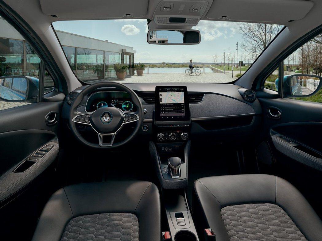 新世代Renault Zoe內裝。 摘自Renault