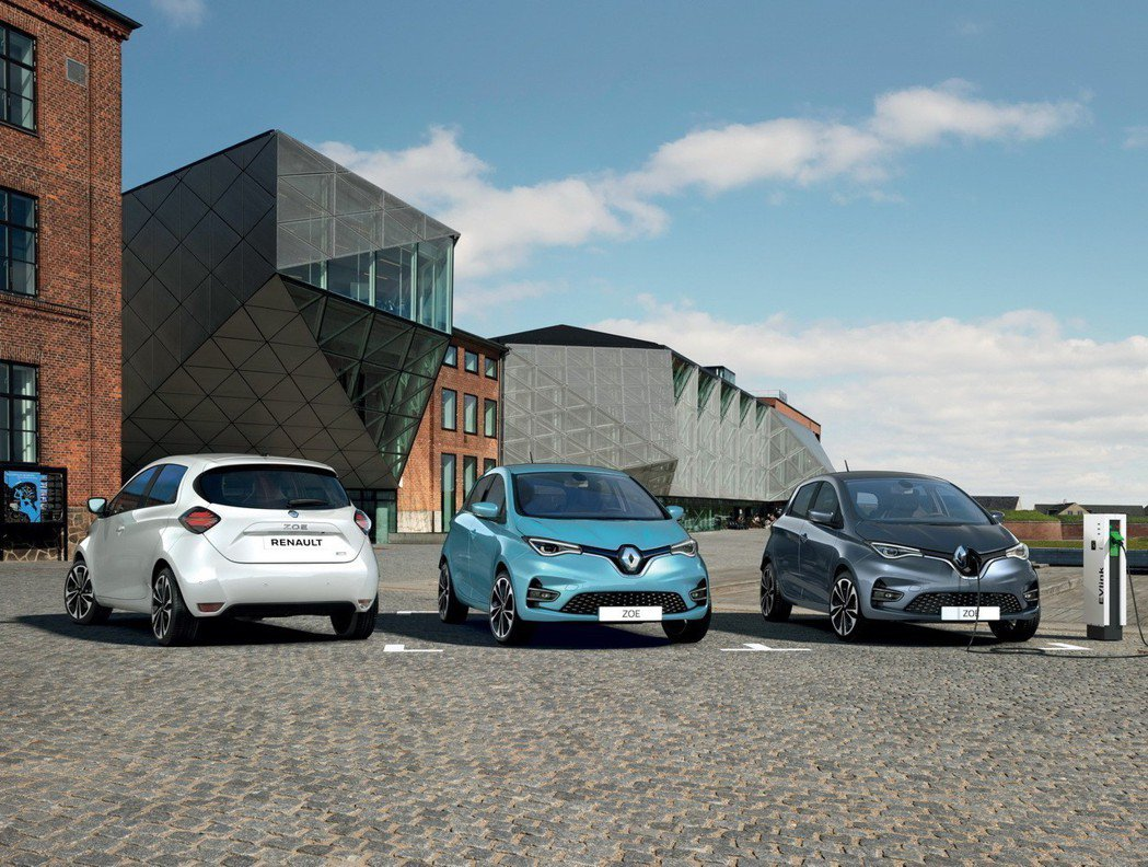 新世代Renault Zoe換上續航力更佳的電池組,繼續在歐洲市場拓展自己的市佔...