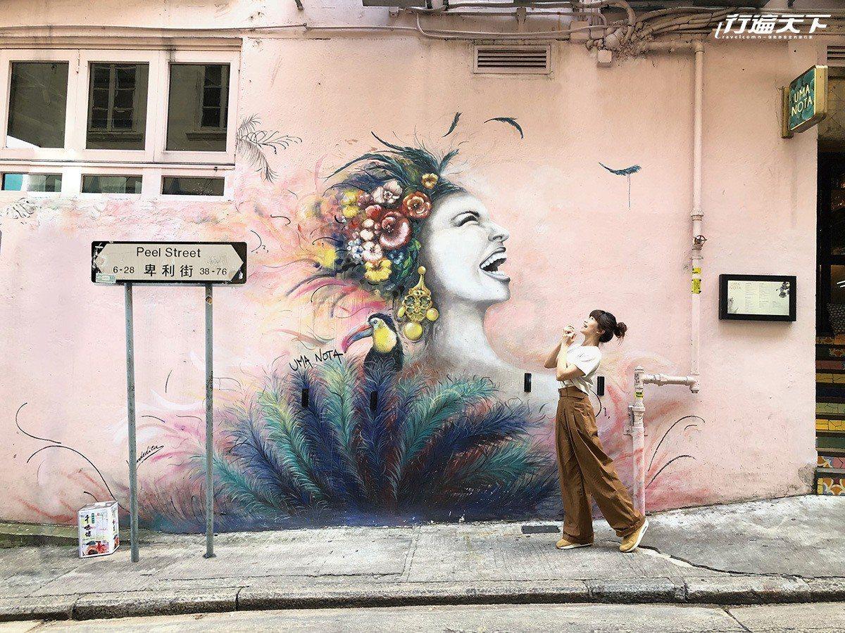 香港各處開始出現有趣的街頭塗鴉。